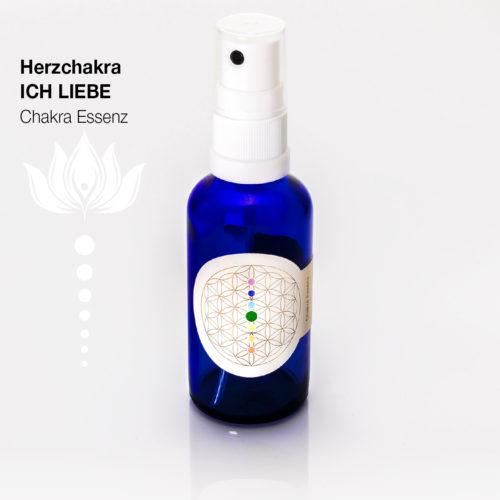 Herzchakra ICH LIEBE - Chakra Essenzen by SantaraMa Cornelia Reich