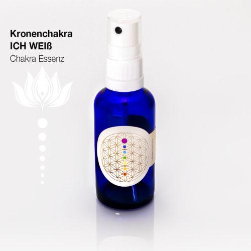 Kronenchakra ICH WEIß - Chakra Essenzen by SantaraMa Cornelia Reich