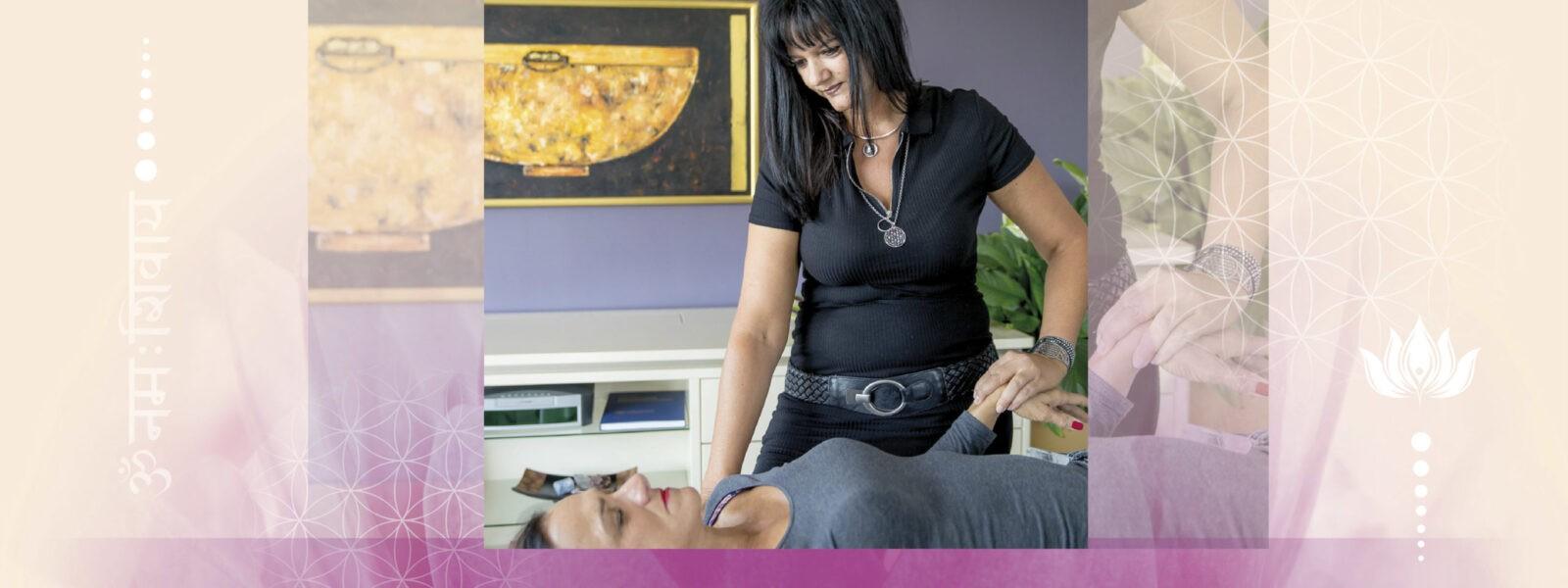 Kinesiologin Santarama - Kinesiologie ist eine energetische Methode um die Balance für Körper, Geist und Seele herzustellen