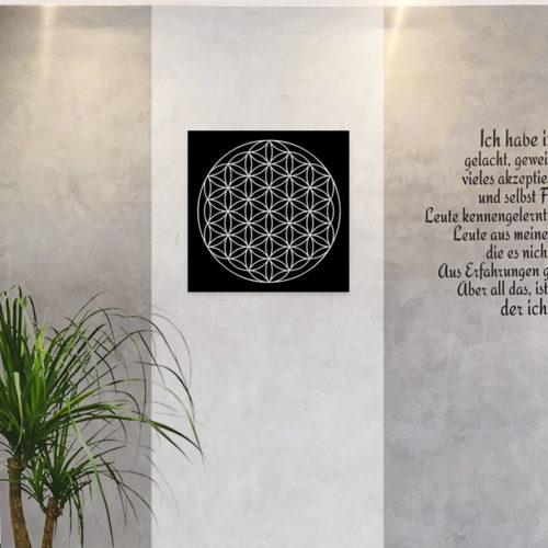 """Wandbild """"Blume des Lebens"""" 40 x 40"""