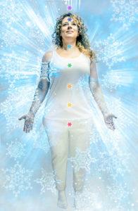 Kristallisierung Aura