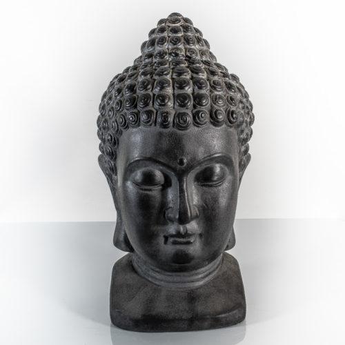 Buddha Statue - Outdoor, Magnesiumoxid, 25 x 27 x 48cm
