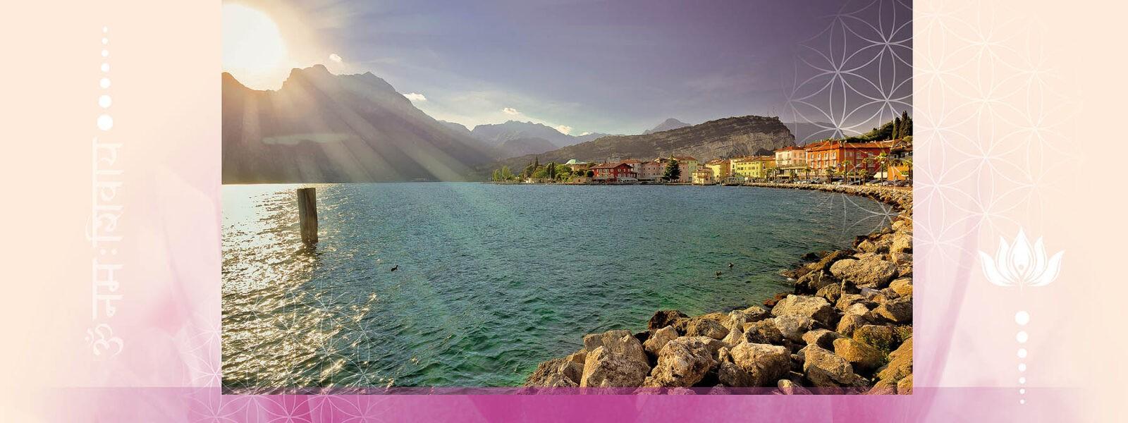 Kristall Heilreise an den schönen Gardasee