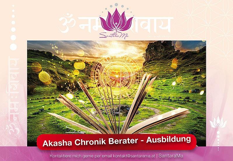 Akasha Cronik Berater - Ausbildung by SantaraMa Cornelia Reich